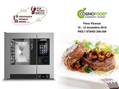 For Tecno Service a Cosmofood - fiera Vicenza