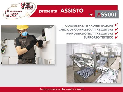FOR TECNO SERVICE PRESENTA ASSISTO by Assogi
